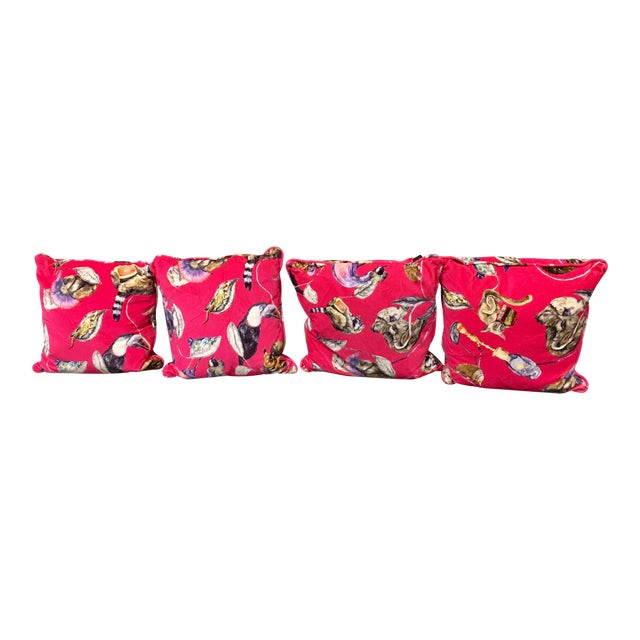 House of Hackney Empire Throw Pillows - Set of 4 For Sale