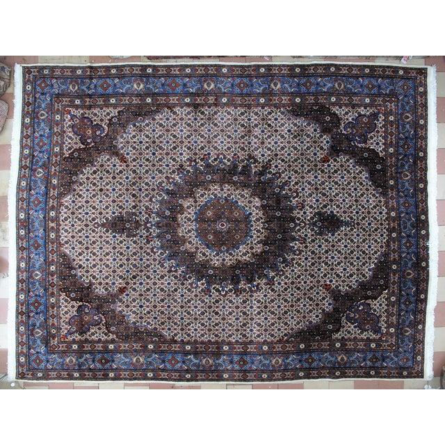 "Textile Leon Banilivi Persian Mood Carpet - 10'2"" X 13'5"" For Sale - Image 7 of 7"