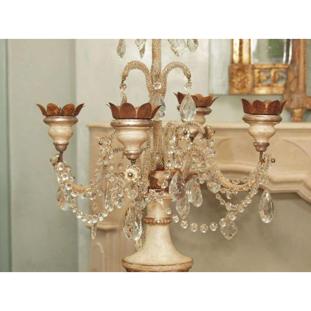 Girandole Candelabras Pair For Sale In New Orleans - Image 6 of 10