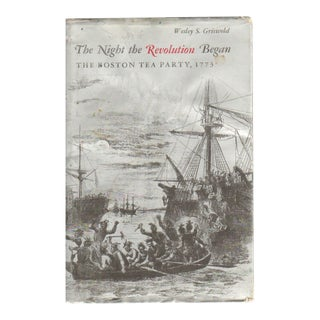 """1972 """"The Night the Revolution Began: The Boston Tea Party, 1773"""" Collectible Book For Sale"""