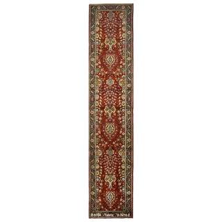 Vintage Persian Tabriz Rug - 3′3″ × 16′2″ For Sale