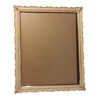 Mid Century Metal Picture Frame