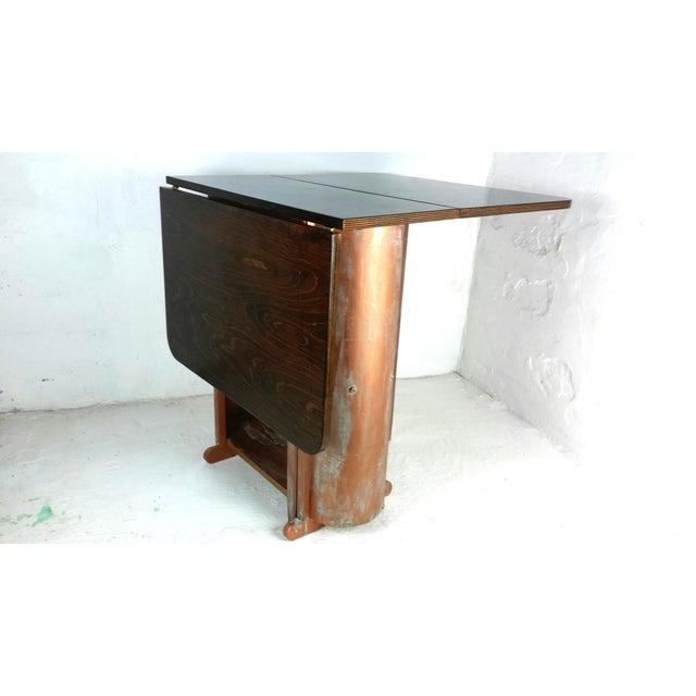 Mid Century Modern Gateleg Table Chairish - Mid century modern gateleg table