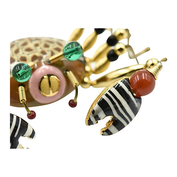 Crab Crawler Brooch by Jewelry 10 For Sale In Miami - Image 6 of 7