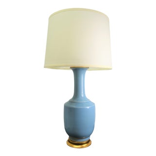 Bungalow 5 Safria Lamp in Light Blue For Sale