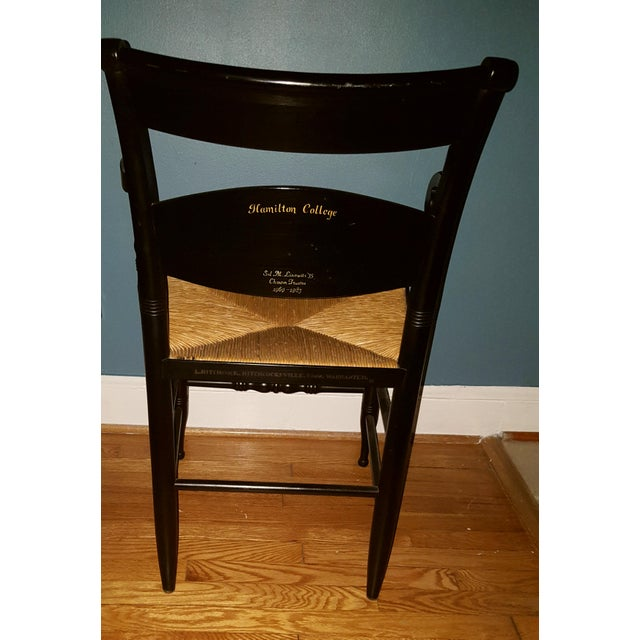 Hamilton College Hitchcock Accent Chair - Image 7 of 11