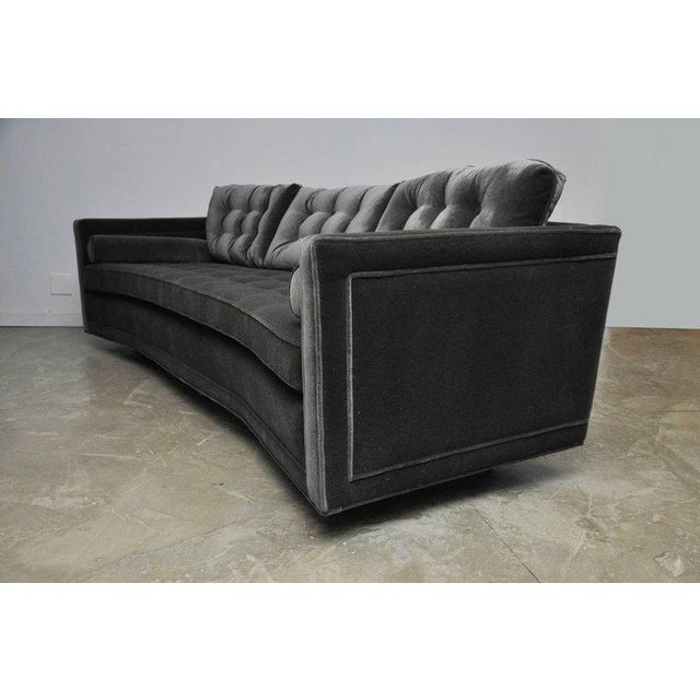 Harvey Probber Harvey Probber Curved Sofa For Sale - Image 4 of 7