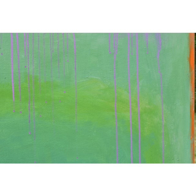 """Stephen Remick Contemporary Abstract Painting """"Weeping Cherry"""" by Stephen Remick For Sale - Image 4 of 13"""