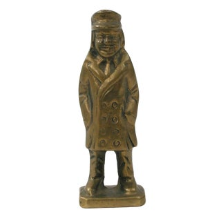 Brass Man Figurine