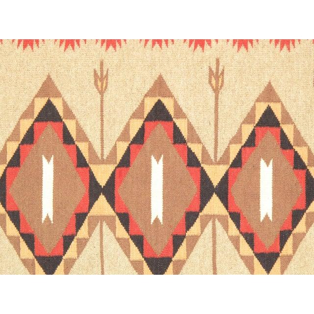 Navajo Decorative Hand-Woven Rug - 3' X 5' - Image 2 of 3