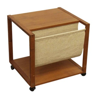 Magazine Holding Side Table