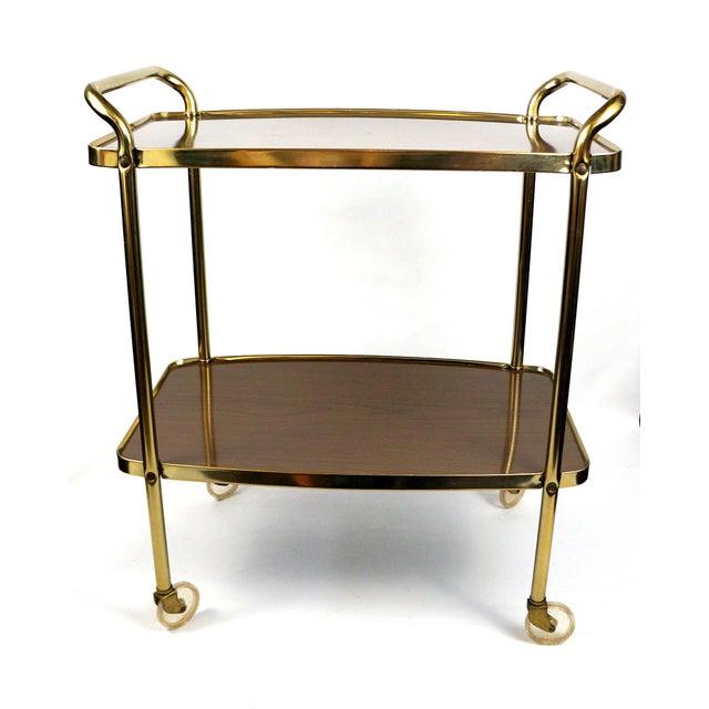 Cosco Mid-Century Modern Bar Cart - Image 3 of 8