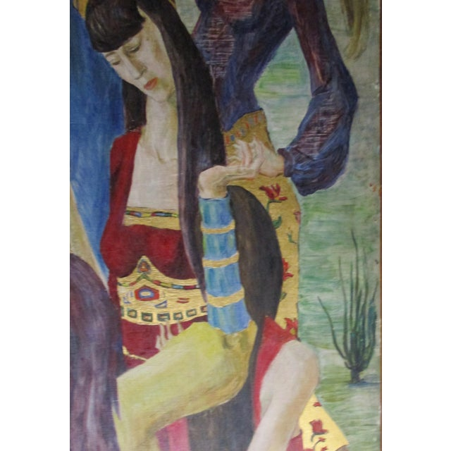 1930s Russian Fairy Tale Floor Screen For Sale - Image 11 of 13