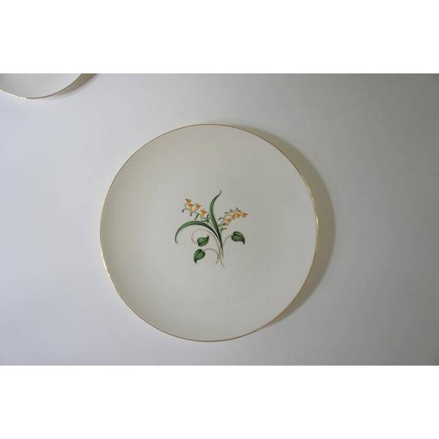 Ceramic 1960s Vintage Knowles Forsythia Dinnerware Service Set - 44 Pieces For Sale - Image 7 of 13