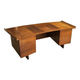 1960s Mid Century Modern Harvey Probber Executive Desk For Sale
