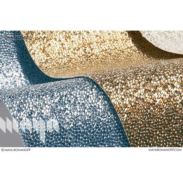 Not Yet Made - Made To Order Sample, Maya Romanoff Beadazzled - Glass Beads Wallcovering For Sale - Image 5 of 9