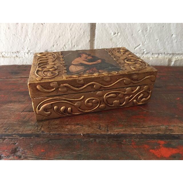 Florentine Wooden Box - Image 8 of 8