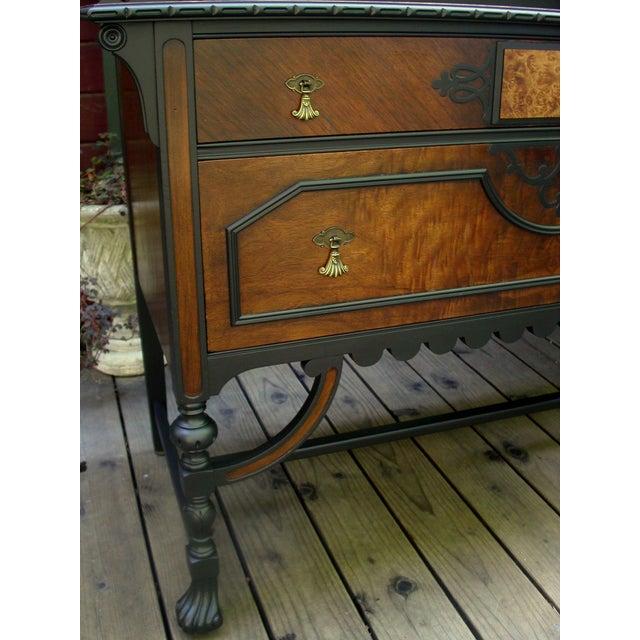Gothic Jacobean Mahogany Dresser - Image 5 of 11