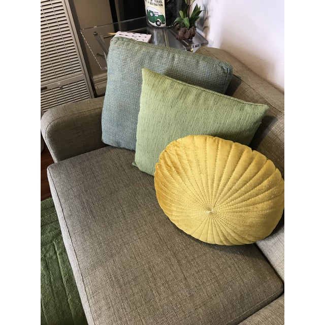 Green Room and Board Mid-Century Anson Sofa For Sale - Image 8 of 11