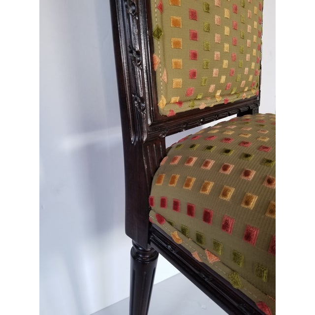 1980s Lewis Mittman Side Chair For Sale - Image 11 of 12