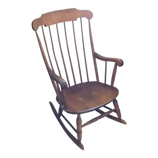 Mid Century Kennedy Rocking Chair For Sale