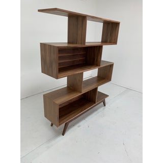 Contemporary Staggered Wall Bookcase Preview