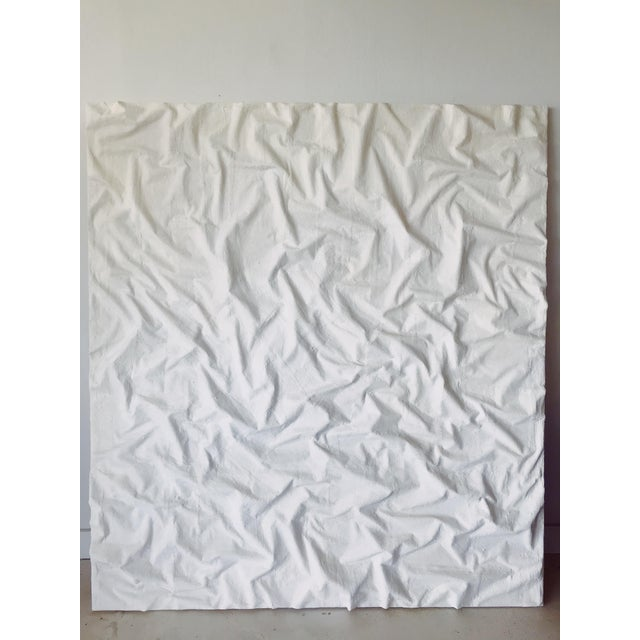 Extra-Large Minimalist Plaster Painting For Sale - Image 10 of 10