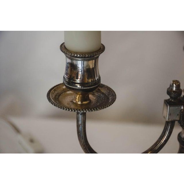 Gold French Bouilotte Lamp For Sale - Image 8 of 13