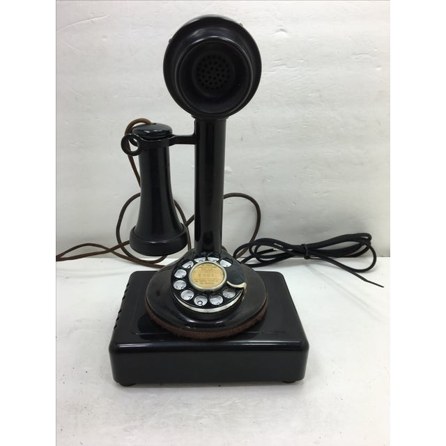 Western Electric Candlestick Rotary Dial Telephone - Image 2 of 11