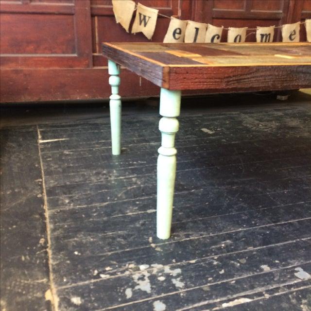 Rustic Handmade Coffee Table - Image 5 of 5