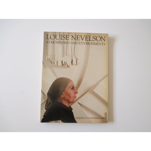 Paper Louise Nevelson Atmospheres and Environments Book For Sale - Image 7 of 7