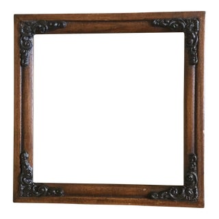 Vintage Wooden Filigree Frame