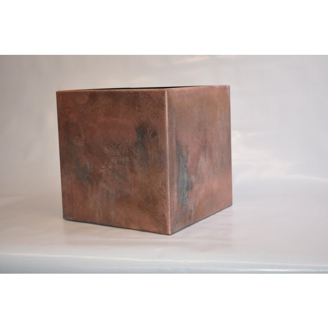 Contemporary Handmade Storage Box For Sale - Image 4 of 4