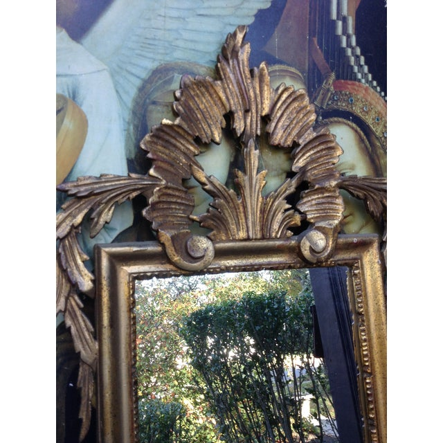 Vintage Gilded Gold Italian Rocco Mirror - Image 4 of 9