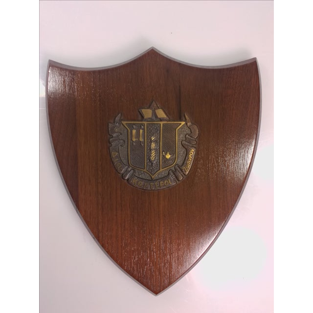 1950s Delta Zeta Sorority Wall Plaque - Image 2 of 9