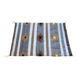 1940s' Navajo Rug Blanket - 2′11″ × 4′4″