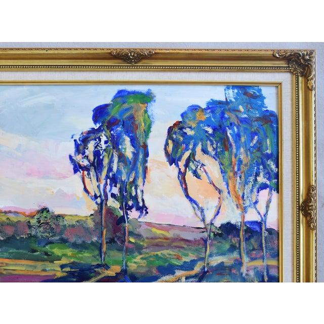 Juan Guzman Ojai California Landscape Oil Painting For Sale - Image 4 of 10