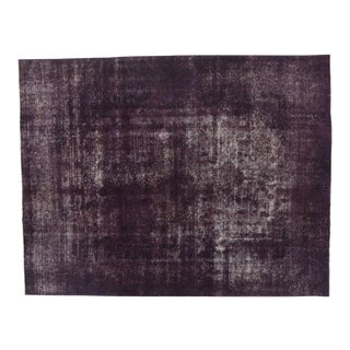 Vintage Turkish Rug With Industrial Luxe Style - 09'04 X 12'00 For Sale