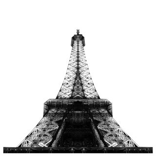 Eiffel Tower At Night Limited Edition Photograph For Sale