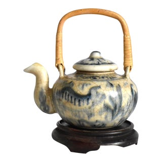 Ming Hoi an Hoard Style Teapot For Sale