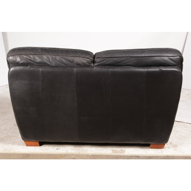 Italian Leather Sofa By Interline