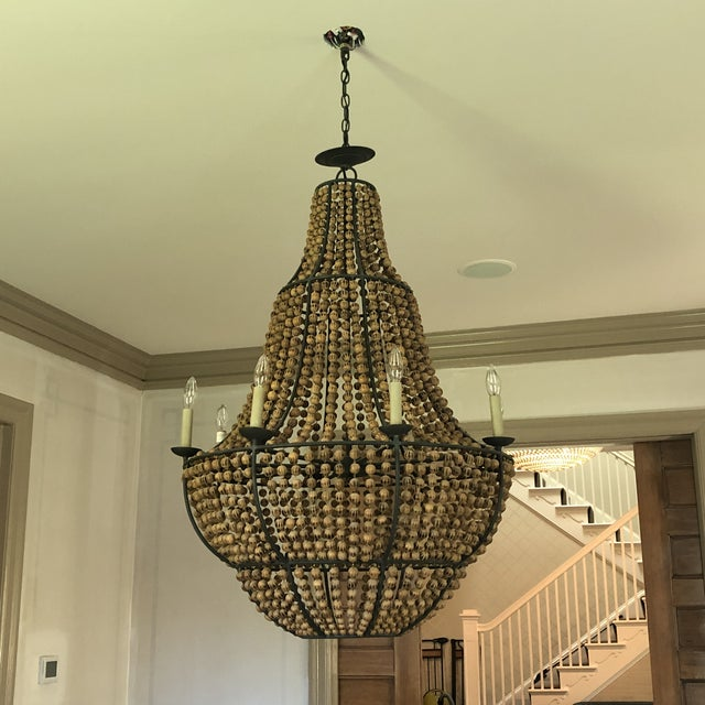 Currey and Company Falconwood Chandelier For Sale In Washington DC - Image 6 of 10