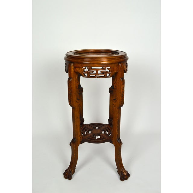 Late 19th Century Japonisme Pedestal Table / Pot Stand For Sale - Image 5 of 13