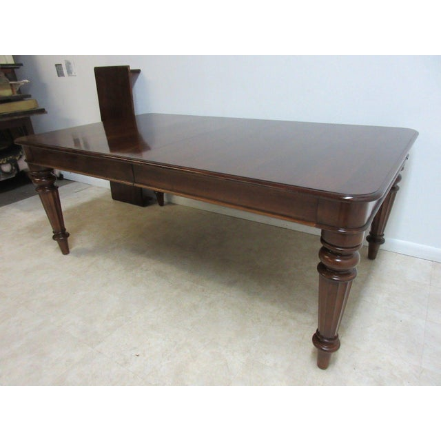 Pennsylvania House Pennsylvania House Cortland Manor Cherry Banquet Dining Conference Table For Sale - Image 4 of 11