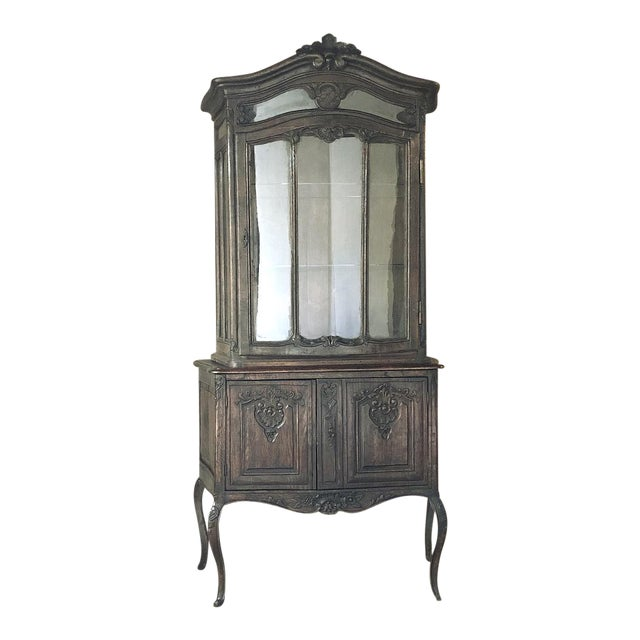 19th Century Country French Vitrine ~ Bookcase For Sale