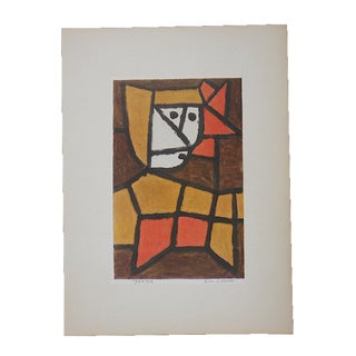Vintage Ltd. Ed. Modernist Lithograph-Paul Klee- c.1955-Folio Size For Sale