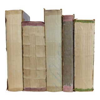 Deconstructed Antique Books - Set of 5