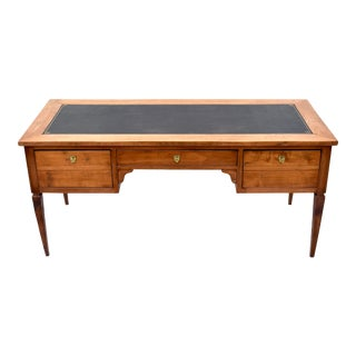 19th Century French Directoire Style Leather Top Desk For Sale
