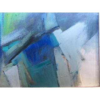 1960s Abstract Anton Henry Dahl Painting Preview