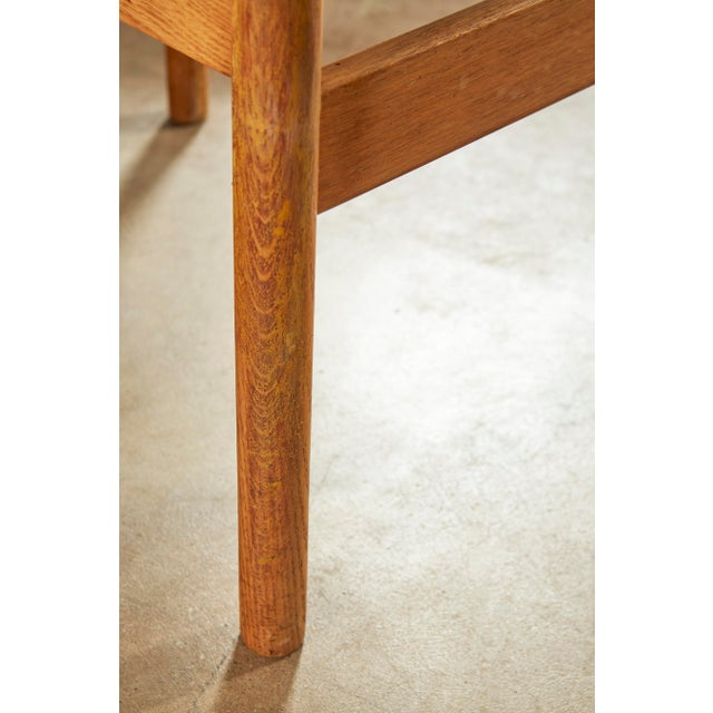 Set of 6 Danish Oak Dining Chairs for Fdb Mobler by Jørgen Bækmark For Sale In Greensboro - Image 6 of 8